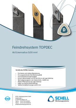 TOPDEC Fine turning system