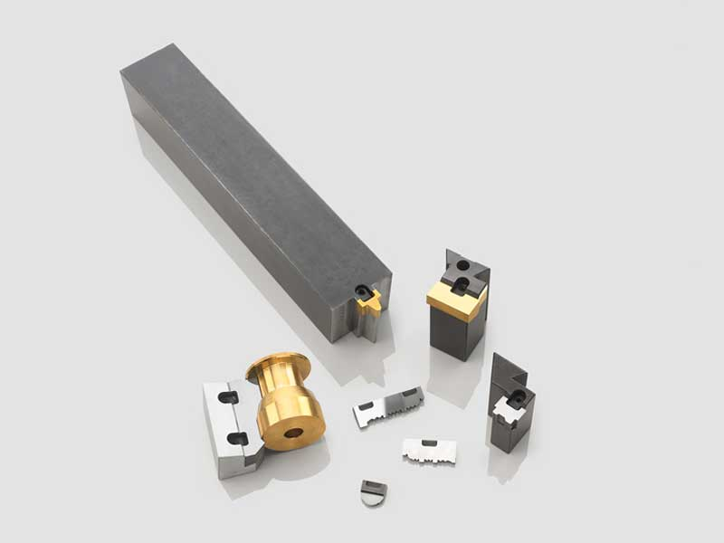 PRODEC profile turning tools with carbide quick-change insert