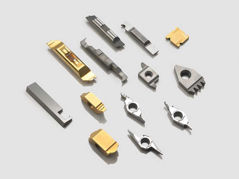 Special indexable inserts in carbide, HSS or cermet