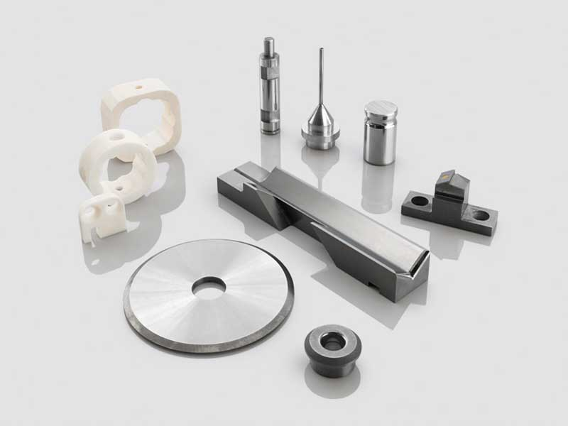 Tungsten carbide and ceramic parts for wear protection from SCHELL Germany