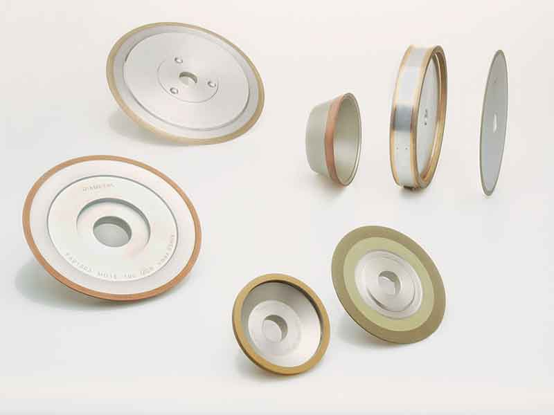 CBN grinding wheels and diamond grinding wheels in synthetic resin bond from SCHELL