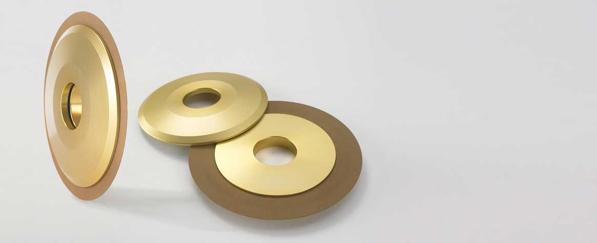 DIACUT diamond and CBN slotted discs TYPE 1A8