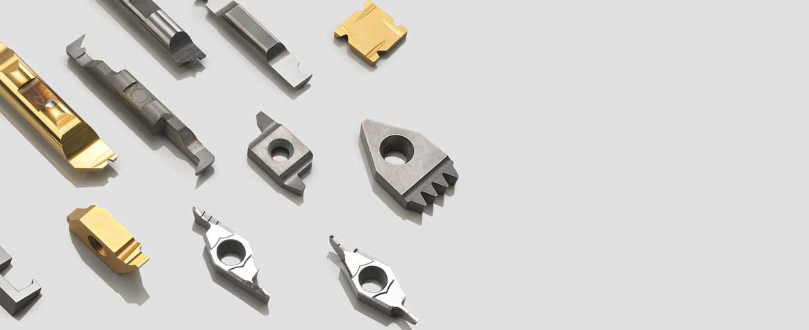 Solid carbide profile turning tools
